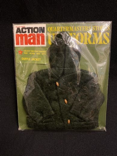 VINTAGE ACTION MAN -  QUARTERMASTERS STORES - DUFFLE JACKET (ref 3)